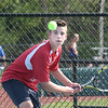 BRYAN EATON/Staff photo. Amesbury second singles Jake Murray.