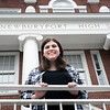 BRYAN EATON/Staff photo. This year's Newburyport High School salutatorian Katerina Connor.