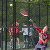 BRYAN EATON/Staff photo. Amesbury's Matt Nardone in first singles.