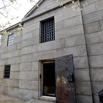 BRYAN EATON/Staff photo. The jail was constructed from granite in 1825.