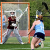 BRYAN EATON/Staff photo. Newburyport goalie Molly Laliberty.