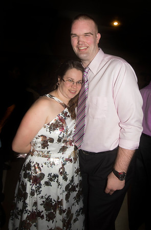 JIM VAIKNORAS/Staff photo Kaitlin Dower dances with Craig Michaud at the Horizon Club Ball Wednesday night at the Elks in Newburyport. The Horizon Club, Inc. is a social club whose mission is to serve developmentally challenged adults from the Merrimack Valley/North Shore areas.