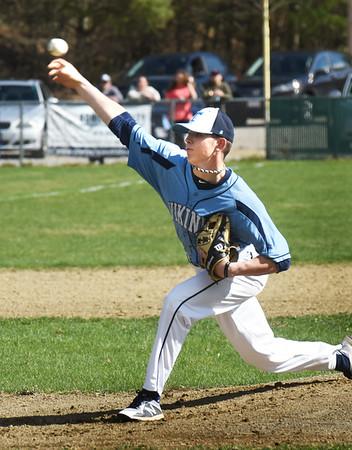 BRYAN EATON/Staff photo. Triton pitcher #19.