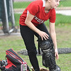 JIM VAIKNORAS/Staff photo Amesbury softball catcher Hanniah Burdick