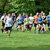 BRYAN EATON/Staff photo. Trav's Trail Run kicks off at Maudslay State Park in Newburyport.