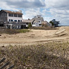 BRYAN EATON/Staff photo. Loads of sand have been deposited in the area of Reservation Terrace on Plum Island.