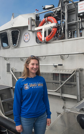 JIM VAIKNORAS/Staff photo Gabby Doucot is a Triton girls lacrosse captain who has also been accepted into the U.S. Coast Guard Academy's Scholarship Program.