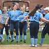 JIM VAIKNORAS/Staff photo Triton players celebrate thier victory over Amesbury at Perry Field in Amesbury Friday.