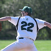JIM VAIKNORAS/Staff photo Pentucket pitcher Jake Etter against Newburyport at Pentucket Tuesday afternoon.