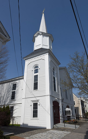 BRYAN EATON/Staff photo. The People's United Methodist Church in Newburyport's South End.