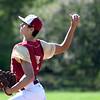 JIM VAIKNORAS/Staff photo  Newburyport pitcher Casey McLaren at Pentucket Tuesday afternoon.