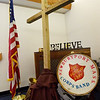 BRYAN EATON/Staff Photo. The Salvation Army meeting room in Newburyport.
