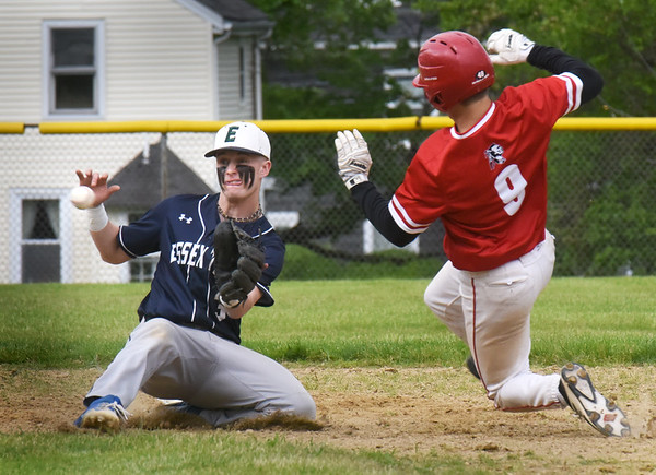 BRYAN EATON/Staff Photo. Tucker Molin safely steals second.
