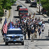 JIM VAIKNORAS/Staff photo  The Amesbury Memorial Day Parade makes it's way up Main Street  Monday.