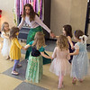 JIM VAIKNORAS/Staff photo freshman Zoe Glenn lead the dancing dressed as a mermaid at the Princess Tea Party fund raiser for the Freshman Class at Amesbury High School Saturday. The event featured Pin the Kiss on the Frog, Princess Bowling, dancing, cup cakes, Princess Limbo, and finger sandwiches.
