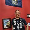 BRYAN EATON/Staff Photo. Soccer fan, Riverwalk Brewery owner Steve Sanderson.