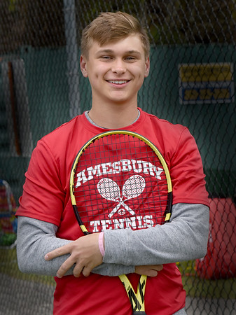 BRYAN EATON/Staff Photo. Amesbury tennis standout Matt Nardone.