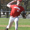 BRYAN EATON/Staff photo. Amesbury pitcher Blake Bennett.
