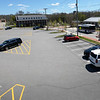 BRYAN EATON/Staff photo. Amesbury's Lower Millyard parking area in photo taken from the parking deck.