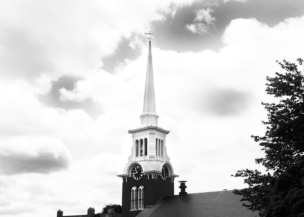 BRYAN EATON/Staff photo. The Central Congregational Church in Newburyport.