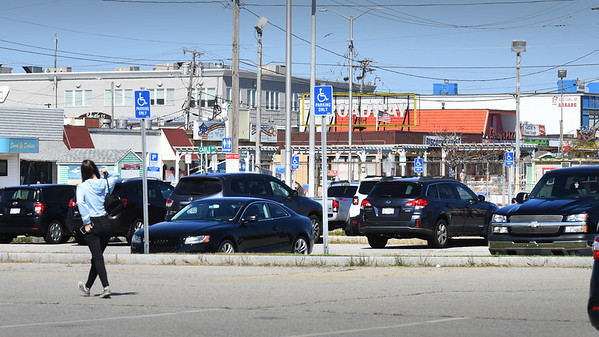 BRYAN EATON/Staff photo. The James Hunt Memorial Parking (municipal) Lot at Salisbury Beach has reopened after being closed for several weeks. The loop around the center is reportedly remaining closed to vehicular traffic throughout the summer.