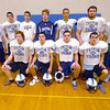 Byfield: Triton football seniors, bottom from the left, Patrick Moran, Nicolas Desrocher, mark Boyle, james Driscoll, back from left, Daniel Cuddy, Kallen O'Connor, Patrick McManus, Justin Spillane, Bradley Whitman, Branden Tardugno, and Mark Landrry. Jim Vaiknoras/staff photo