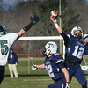 Byfield: Triton's Bradley Whitman throws a pass that was incomplete yesterday in a game with Pentucket. Bryan Eaton/Staff Photo