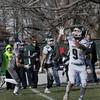 BRYAN EATON/Staff Photo. Pentucket's Kiernan Haley catches this pass for a touchdown.