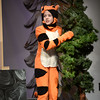 """BRYAN EATON/Staff photo. The Theater Workshop at Newbury Elementary School puts on """"Christmas in the Woods."""" Riley Bell as """"Tigger"""" also has a Christmas tree for the Rabbit."""