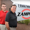 BRYAN EATON/Staff photo. Brian Zampell, left, with his father Jim.