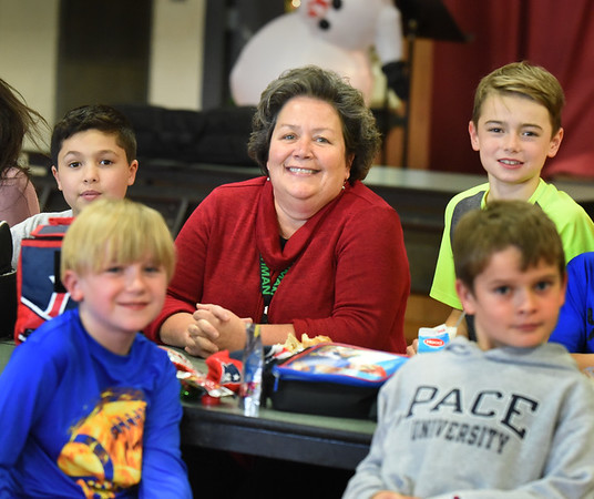 BRYAN EATON/Staff photo. Cashman Elementary School principal M. Louise Charette is retiring at the end of the school year. She is the third principal to serve at the Amesbury school racking up nine years.