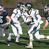 BRYAN EATON/Staff photo. Pentucket running back Brandon WIlbur goes for some yardage.