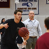 BRYAN EATON/Staff photo. Newburyport High School boys basketball coach David Clay.