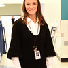 BRYAN EATON/Staff photo. Bresnahan School assistant principal Karina Mascia is a native of Brazil.