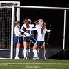 JIM VAIKNORAS/Staff photo Triton celebrate their first goal against Ipswich at Triton Wednesday night.