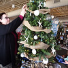 BRYAN EATON/Staff photo. The family event SeaFestival of Trees has a special family meaning for sisters Kathie O'Neill, left, and Debbie Fournier in memory of their late mother, Paula O'Neill. The Salisbury native and longtime Newburyport resident was very active with the Newburyport Chamber of Commerce, Yankee Homecoming and the Newburyport Lion's Club, especially the Thanksgiving Day dinner.