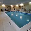 BRYAN EATON/Staff photo. The new Hampton Inn has a pool as well as a fitness room.