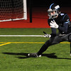 JIM VAIKNORAS/Staff photo Triton's Chris Trotta makes a recieption for a 2 point conversion against Swampscott at Triton.