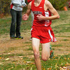 BRYAN EATON/Staff photo. Amesbury's first runner to finish was Patrick McCue.
