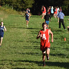 BRYAN EATON/Staff photo. Amesbury's Brian Abel heads to the finish.
