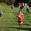 BRYAN EATON/Staff photo. Amesbury's Brian Abel heads to the finish.
