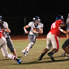JIM VAIKNORAS/Staff photo Triton's Thomas Lapham runs against Somerville at Dilboy Stadium in Somerville Friday night.
