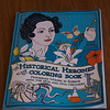 JIM VAIKNORAS/Staff photo  Historical Heroines Coloring Book by Elizabeth Lorayne.
