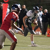 JIM VAIKNORAS/Staff photo Triton's Kyle Oday scores against  Somerville at Dilboy Stadium in Somerville Friday night.