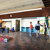 BRYAN EATON/Staff photo. A room used for storage at the Boys and Girls Club in Salisbury is getting a makeover to become the new music room. Volunteers from United Way of Massachusetts Bay and Merrimack Valley and Kurgo company, in Salisbury, sent volunteers to paint the space with materials provided by True Value, which has a partnership with the club, with the local Kelly's as the local supplier.