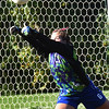 BRYAN EATON/Staff photo. Georgetown goalie Tatiana Linares makes a save.