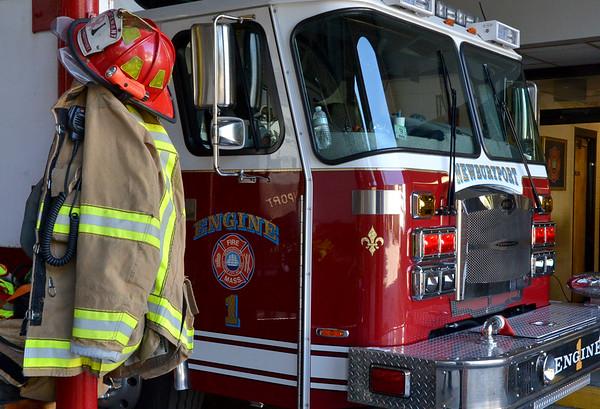 JIM VAIKNORAS/Staff photo A Newburyport fire engine