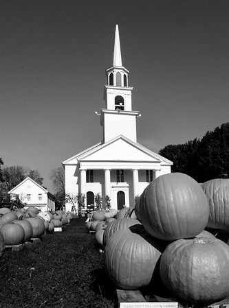 BRYAN EATON/Staff photo. The Main Street Congregational Church in Amesbury.