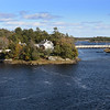 BRYAN EATON/Staff photo. A panoramic view of the Hines Memorial Bridge, left, Deer Island and the Chain Bridge.