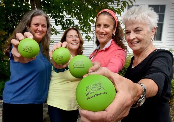 BRYAN EATON/Staff photo. From left, Dina Crawford, Carol Gamble, Ilene Harnch-Grady and Arleen Damon.